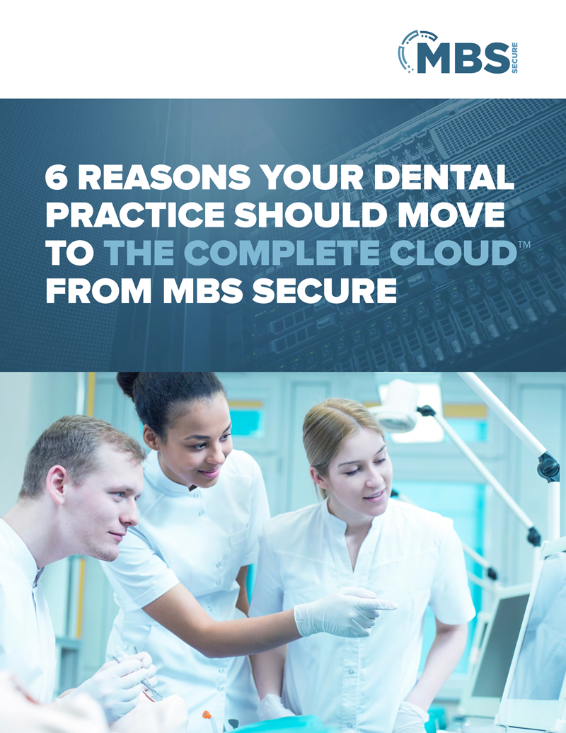 6 Reasons your Dental Practice Should Move to the Cloud